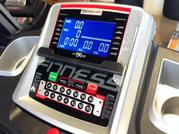 Tapis roulant Motorizzato TX-Fitness TX 10500 AC HRC console 1