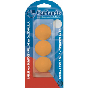Blister di 3 Palline Arancio standard