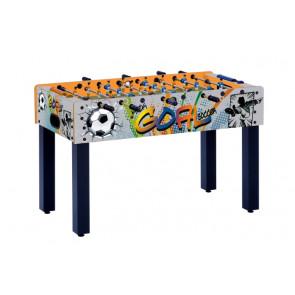 Calciobalilla Garlando F-1 con grafica GOAL Aste Rientranti