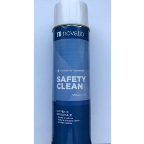 Spray Detergente Novatio Safety Clean Solvente Universale 500 ML