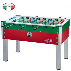 Calciobalilla Roberto Sport New Camp Italy Rosso-Azzurro / Verde-Rosso / Azzurro / Rosso con Gettoniera