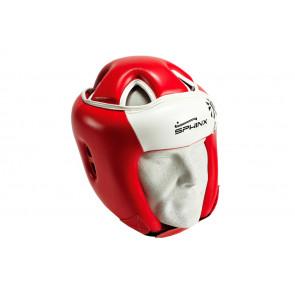 Casco Gara Sphinx G-Armour con Protezione Rosso